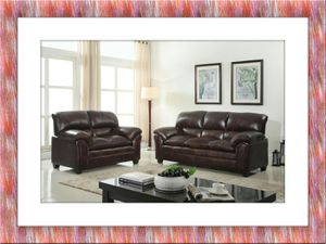 Burgundy sofa and love seat with free delivery for Sale in Rockville, MD