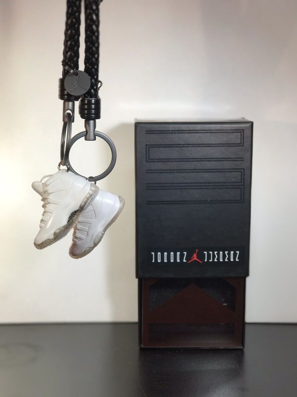 Air Jordan 1-14 all retro 3d keychain with box and bag great gift ... 77b88f71d