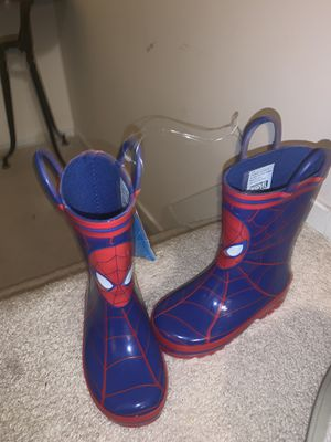 Spider-Man rain boots for Sale in Germantown, MD