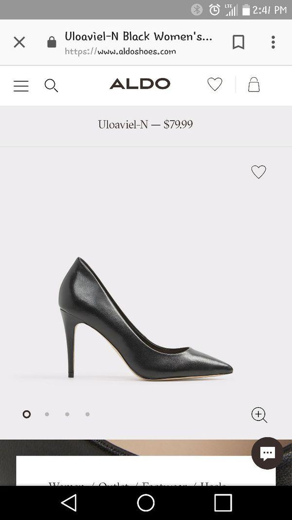 2234a8b1f48 Aldo Uloaviel Pump - Women s - Black Leather for Sale in Lake ...