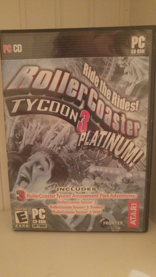 Roller coaster tycoon 3 for Sale in Colorado Springs, CO - OfferUp