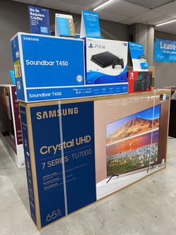 """🔥🔥SAMSUNG 65"""" Smart 4K TV 🔥🔥with ps4 or Soundbar or gaming console or tablet or laptop 👏👏 No credit check Thumbnail"""