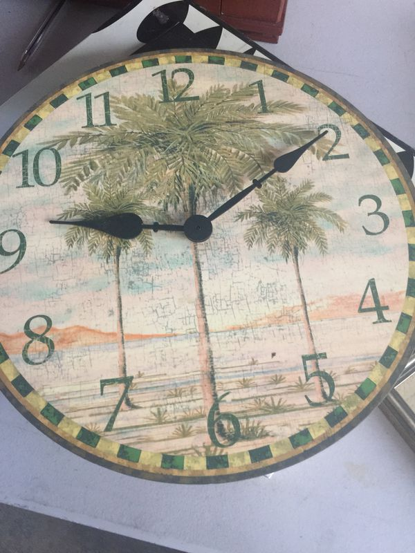 Palm tree clock for sale in baldwin park ca offerup gumiabroncs Choice Image