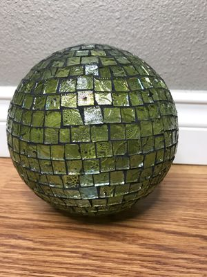 "6"" glass mosaic decor sphere ball for Sale in Tacoma, WA"