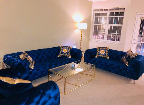 New Royal Blue Sofa Set For Sale In Davenport Ia Offerup