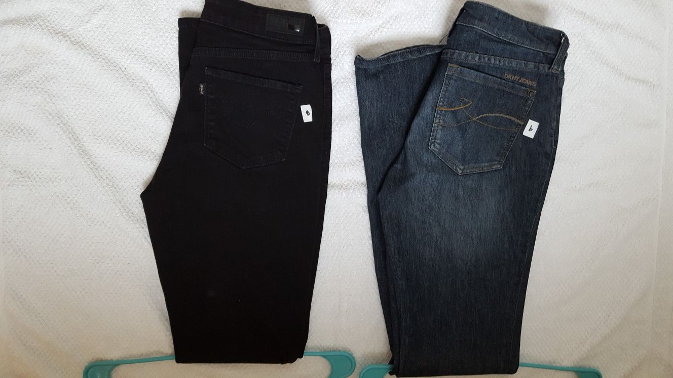 Levi's and DKNY jeans