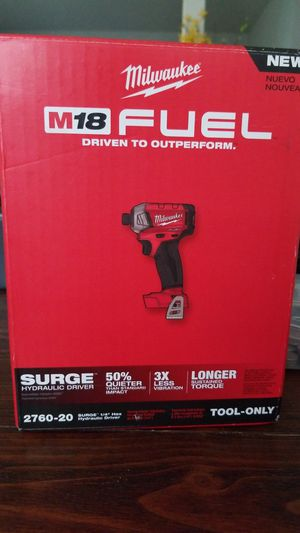Milwaukee surge hex impact drill NEW! for Sale in Oviedo, FL