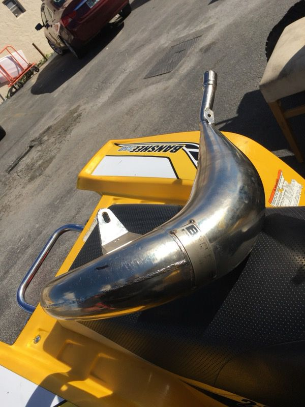 Yz 125 kx 125 cr 125 exhaust bills pipe for Sale in Hollywood, FL - OfferUp