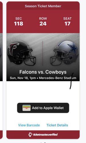 Cowboys Falcons for Sale in Atlanta, GA