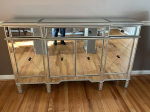Mirrored buffet for Sale in Rockville, MD