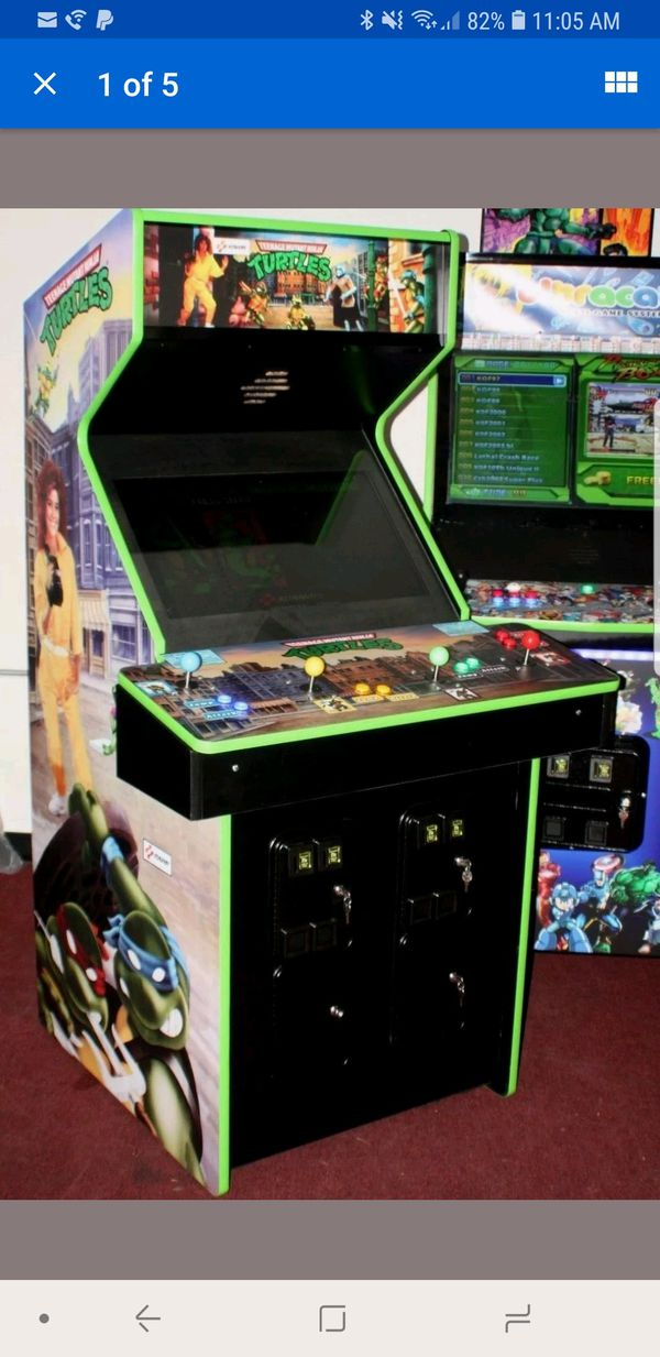 TMNT NINJA TURTLES KONAMI ARCADE GAME 4 PLAYER FULLY REFURBISHED WORKING  100% for Sale in ROWLAND HGHTS, CA - OfferUp