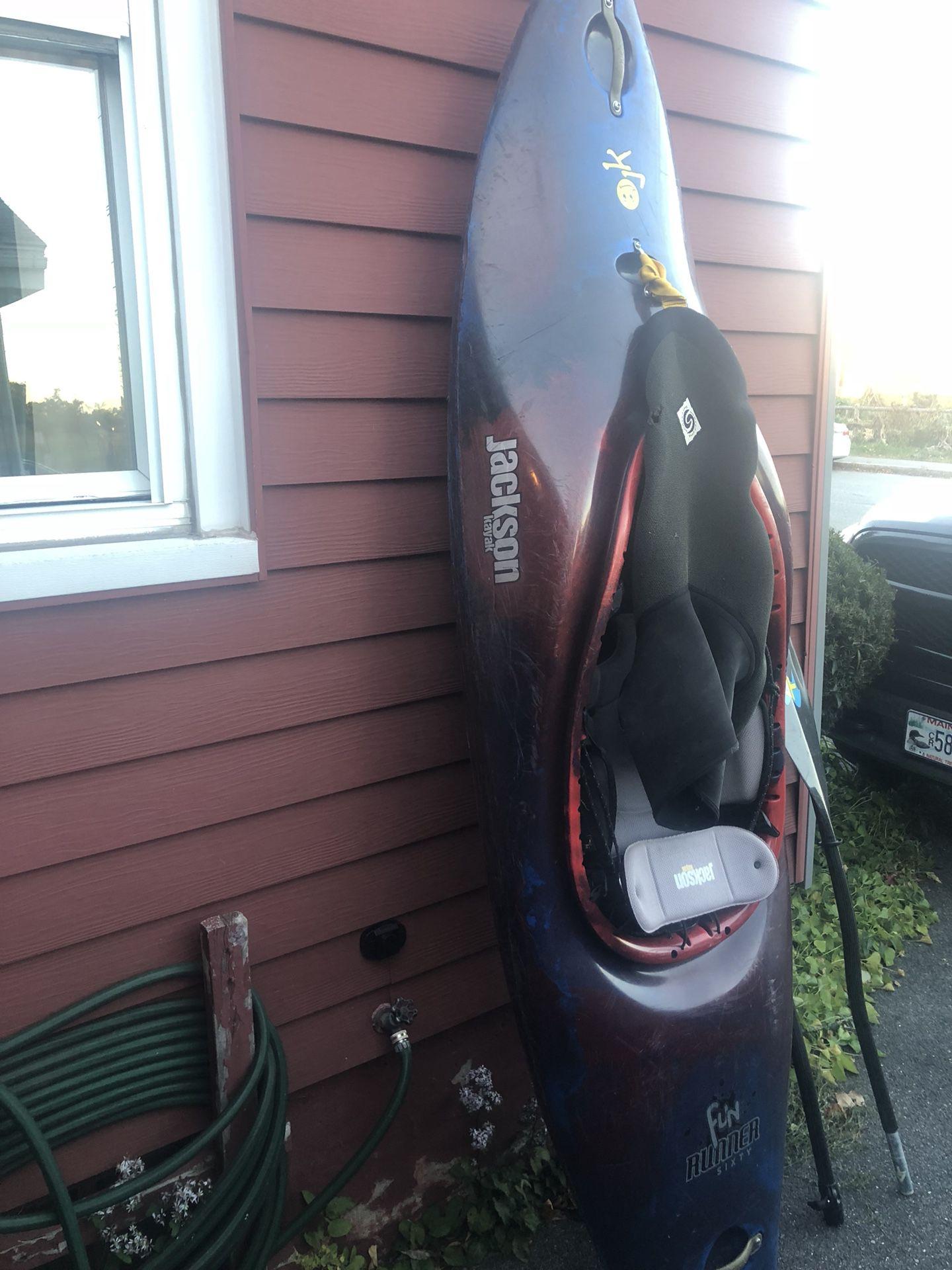 Photo Kayak, Jackson Funrunner 60, Used.