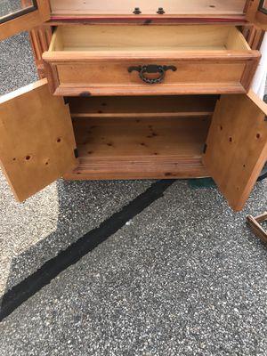 All pine hutch! for Sale in Lynchburg, VA