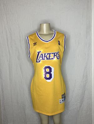 best loved 8db4f 62c9e Throwback Lakers Jersey Dress - Medium for Sale in Las Vegas, NV - OfferUp