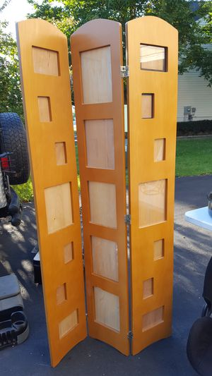 Wood Room divider photo frame for Sale in Charles Town, WV