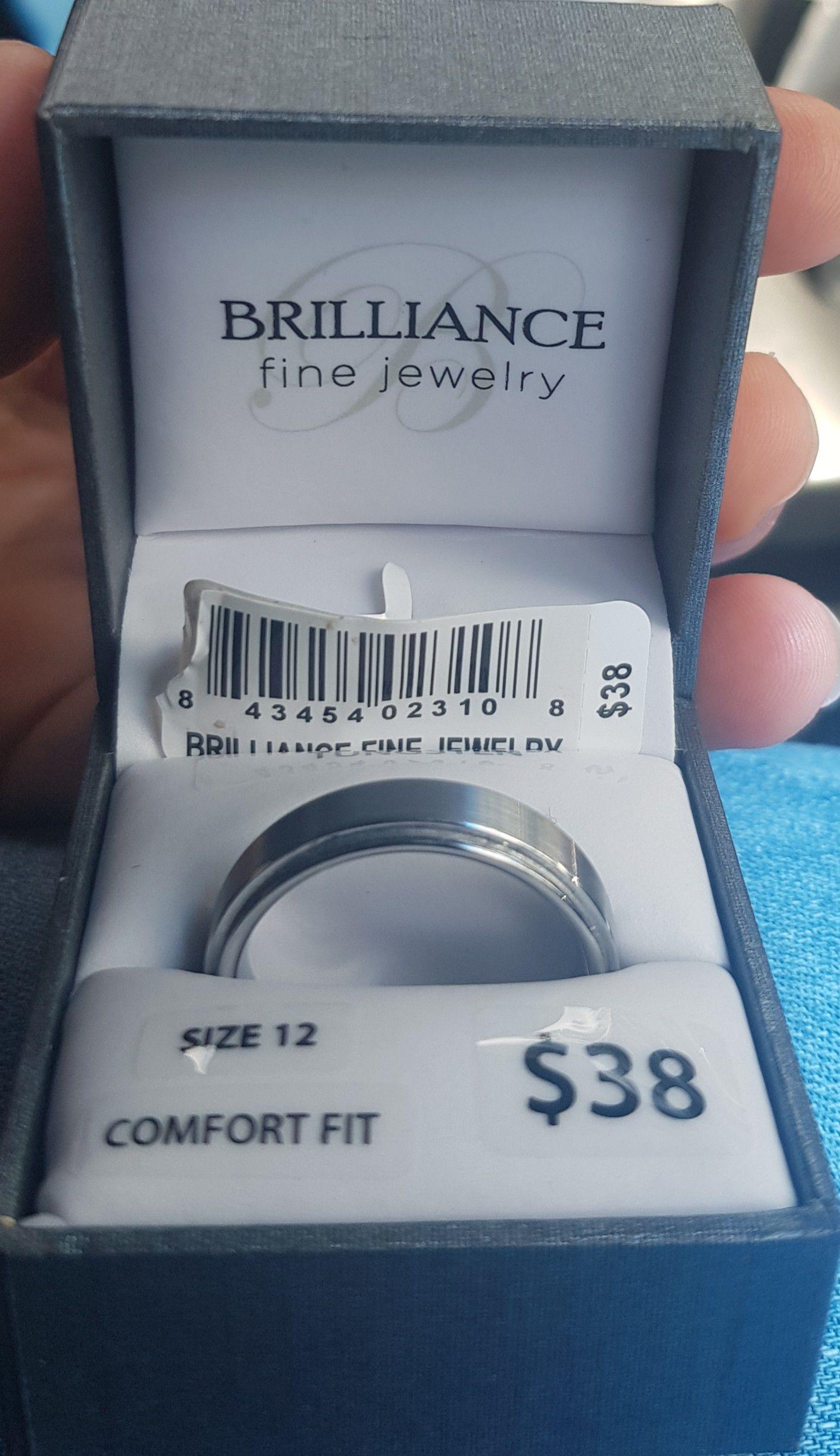 Tungsten ring size 12