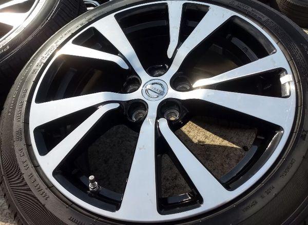 2017 Nissan Maxima Wheels Oem Rims And Tires