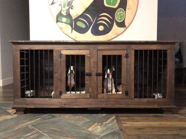 Custom Indoor Dog Kennel Furniture For Sale In Puyallup Wa Offerup
