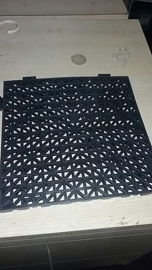 Floor rubber cushion mat squares for Sale in Cleveland, OH
