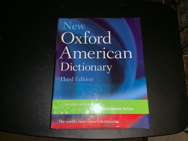 New Oxford American Dictionary 3rd Edition for Sale in San Diego, CA -  OfferUp