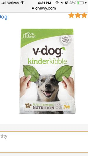 V dog dog food for Sale in Scottsdale, AZ
