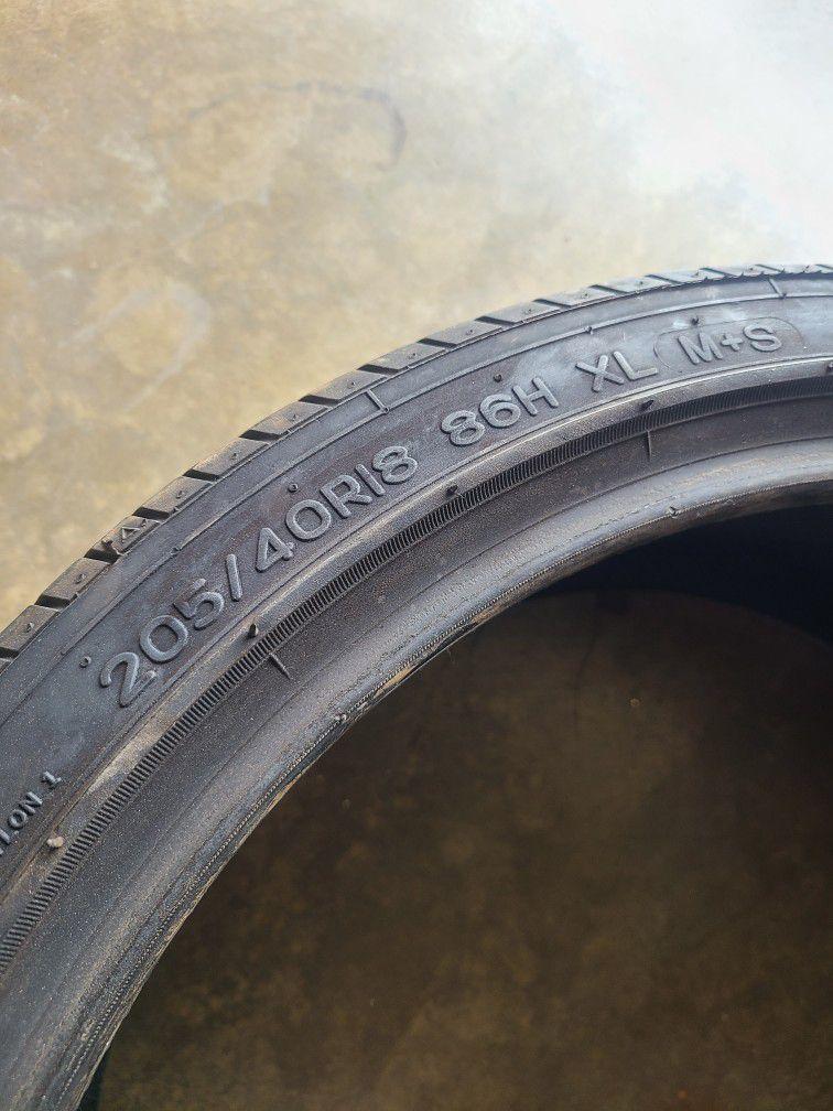1 Nankang As1 Low Profile Tire