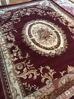 Brand new Turkish rug size 8x11 nice red carpet Persian style rugs for Sale in Burke, VA