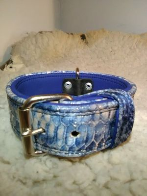 "Snake print Designer ""Dog Collar"" for Sale in Glendora, CA"