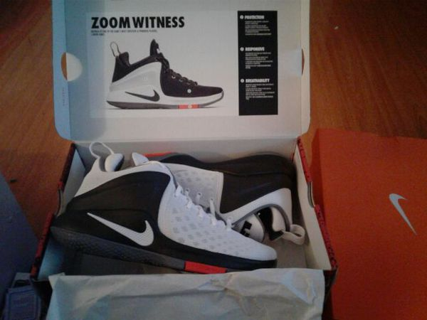 9f73c3e98547a ... sale nib nike lebron james mens zoom witness basketball shoes grey  white 88390 6274b