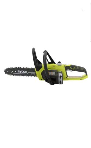 Ryobi P547 ONE+ Lithium+ 10 in. 18-Volt Lithium-Ion Cordless Chainsaw for Sale in UPR MARLBORO, MD