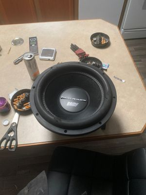 Photo Power acoustik bamf 12 inch