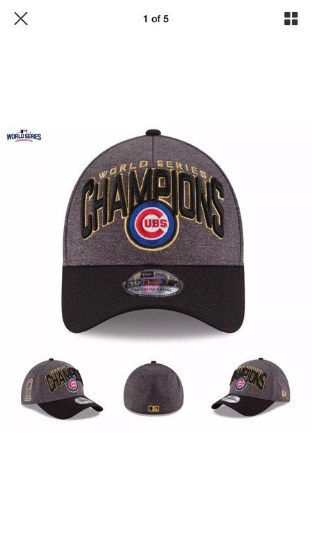 info for 8c367 0c50f Chicago Cubs LOCKER ROOM 2016 World Series Hat!!!  MINT