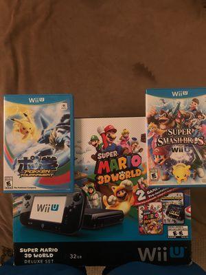 Wii U + 5 games for Sale in Boston, MA