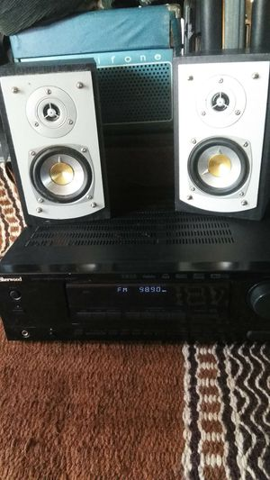 Sherwood Audio Video Receiver With Speakers For Sale In Glendale AZ