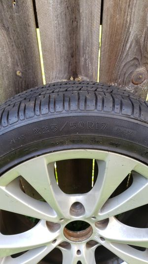 4 BMW Rims and Good Years Eagle tires for Sale in Baltimore, MD