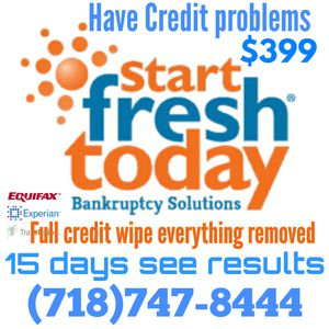We Fix credit reports get your bad items clean for Sale in Queens, NY
