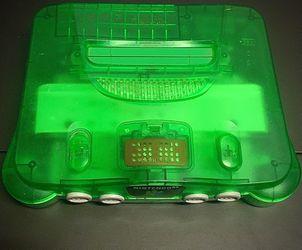Funtastic Jungle Green Nintendo 64 System Thumbnail