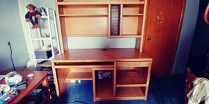 Solid wood computer desk for Sale in Clinton, PA