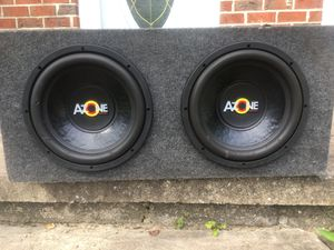 Subwoofers Azone 12's for Sale in Baltimore, MD