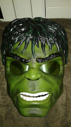 Hulk mask lights up Halloween mask Thumbnail
