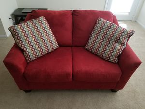 Red Loveseat Sofa for Sale in Alexandria, VA