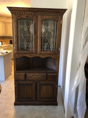 Oak Corner Hutch for Sale in Mount Juliet, TN