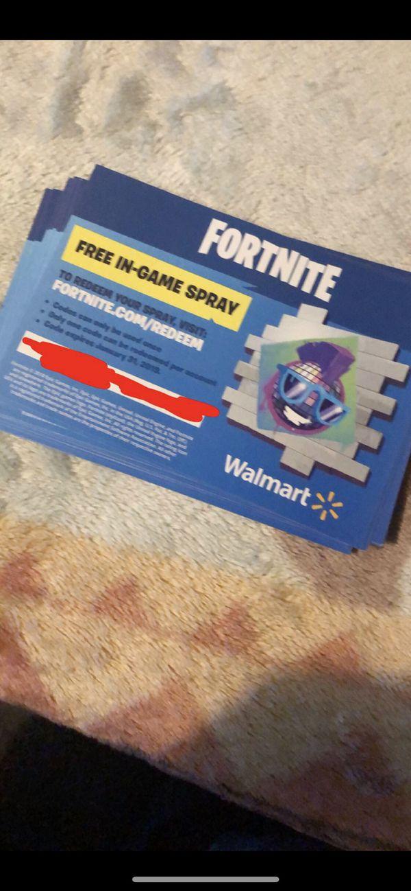 Fortnite Free Walmart Code Bbcreamqueen Com