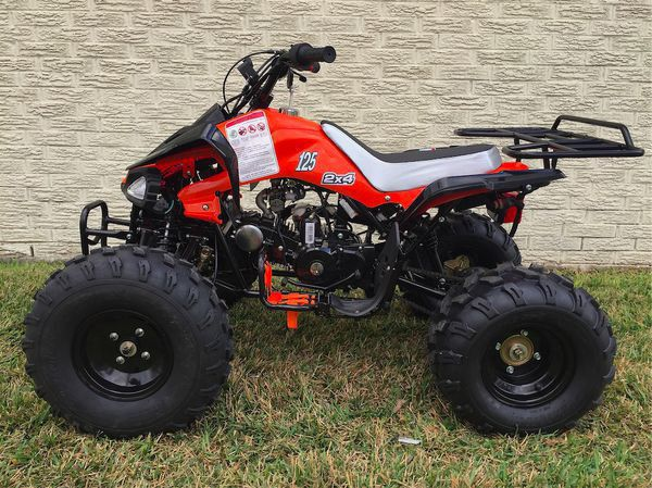 Sports model atv 125cc