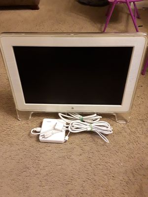 White Apple Monitor for Sale in Silver Spring, MD