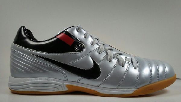 530db6cde00 2006 Nike Total 90 Shift IC 313862-061 Grey Black Mens Indoor Shoes size  11.5