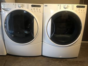 Photo Kenmore elite washer and electric dryer