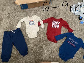 Baby Boy Clothes Sizes Range Thumbnail