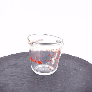 Photo Fire King Vintage Measuring Cup Glass 498