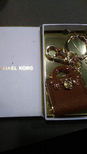 Michael kors Hamilton key charm chain for Sale in Washington, DC